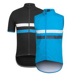 Team Sky Brevet Jersey and Gilet Bundle