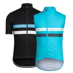 Team Sky Short Sleeve Brevet Jersey and Gilet Bundle