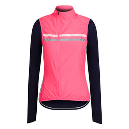View the Women's Long Sleeve Brevet Jersey and Gilet on rapha.cc