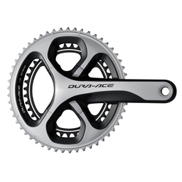 Shimano Dura Ace Hollowtech 11 Double Crankset - FC-9000