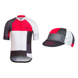 Trade Team Jersey and Cap Bundle - Red