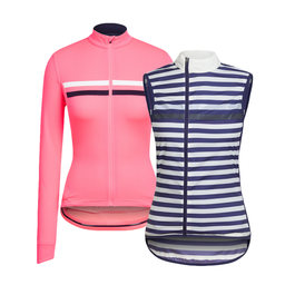Women's Long Sleeve Brevet Jersey and Gilet Bundle