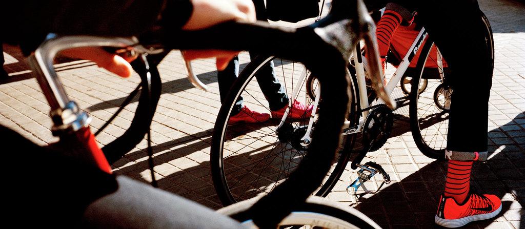 Long Summer City Riding Socks