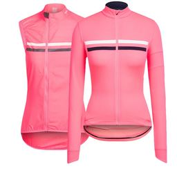 Women's Long Sleeve Brevet Jersey and High-Vis Gilet Bundle