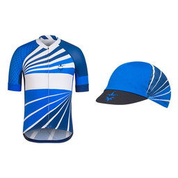 Trade Team Jersey and Cap Bundle - Blue