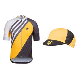 Trade Team Jersey and Cap Bundle - Yellow