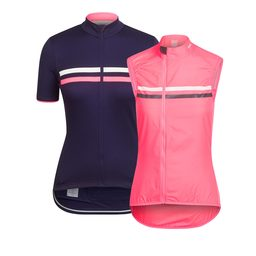 Women's Brevet Jersey and High-Vis Gilet Bundle
