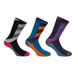 Merino Patterned Socks Bundle