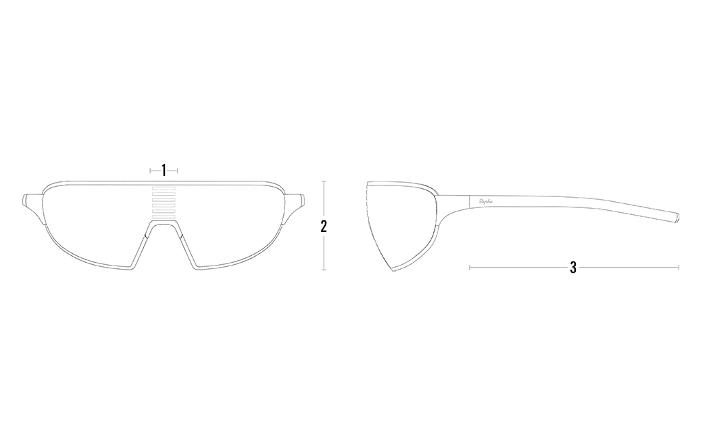 Glasses sizing