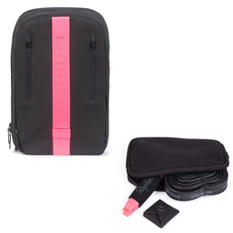 Reflective Backpack and Repairs Essentials Case Bundle