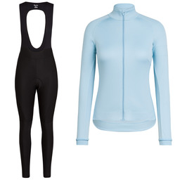 Women's Core Winter Jacket & Winter Tights With Pad Bundle