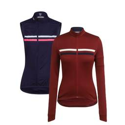 Women's Long Sleeve Brevet Jersey and Vest Bundle