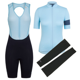 Women's Classic Jersey II, Bib Short & Merino Arm Warmers Bundle
