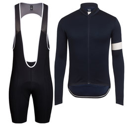 Classic Long Sleeve Jersey & Thermal Bib Shorts Bundle