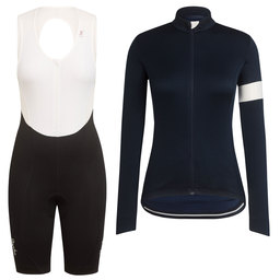 Women's Long Sleeve Classic Jersey II and Classic Bib Shorts Bundle