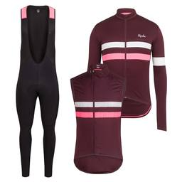 Brevet Long Sleeve Jersey & Gilet & Tights Bundle