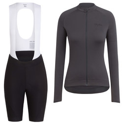 Women's Long Sleeve Core Jersey & Core Bib Shorts Bundle