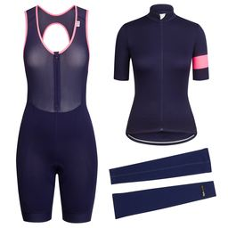 Women's Classic Jersey, Bib Short and Merino Arm Warmer Bundle