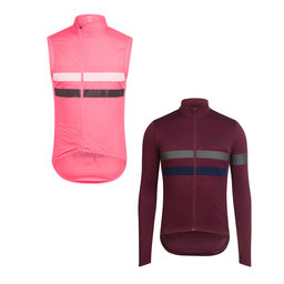 Long Sleeve Brevet Jersey and Gilet Bundle