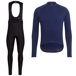 Long Sleeve Core Jersey & Winter Tights With Pad Bundle