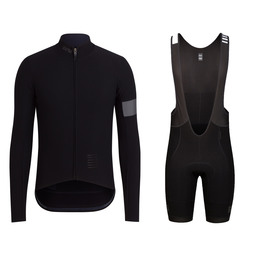 Pro Team Long Sleeve Shadow Jersey and Shadow Bib Shorts Bundle