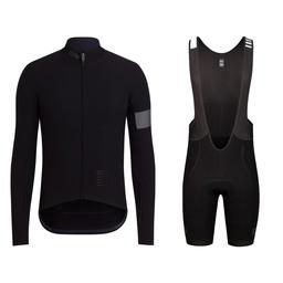 Pro Team Long Sleeve Shadow Jersey and Shadow Bib Shorts Bundle